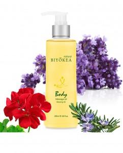 Tinh dầu masage body Relaxing - B2 Thư Giãn